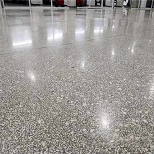 Lithium based sealing curing agent for terrazzo floor