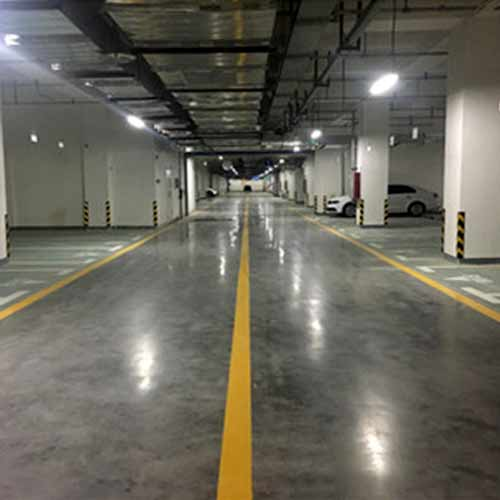 Lithium-based sealing curing agent-for underground garage floors